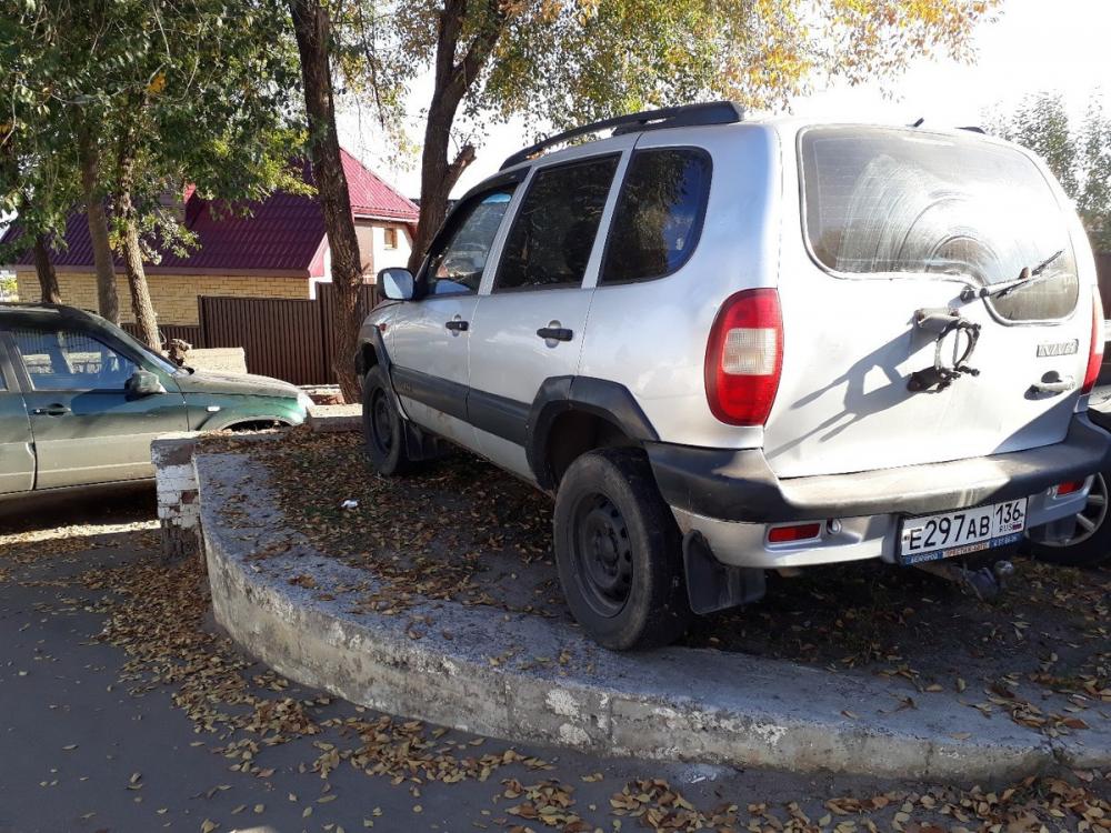 В Воронеже показали место, куда водители прячутся от платных парковок
