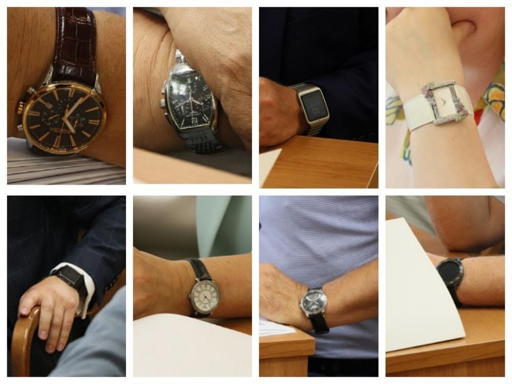 Какие часы и за сколько носят воронежские депутаты и чиновники