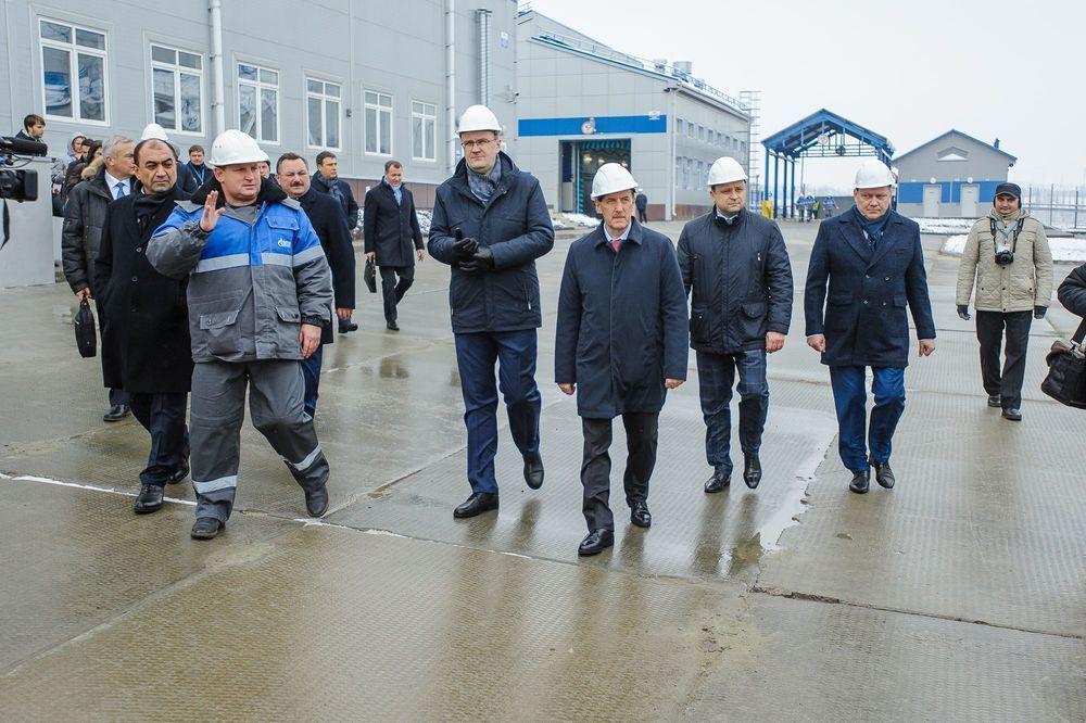 Воронежский губернатор Гордеев обрадовался газу в каске