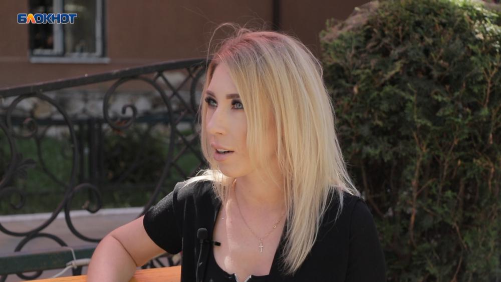 Анжела Корнилова  утерла нос ведущему в «Мисс Блокнот Воронеж-2019»