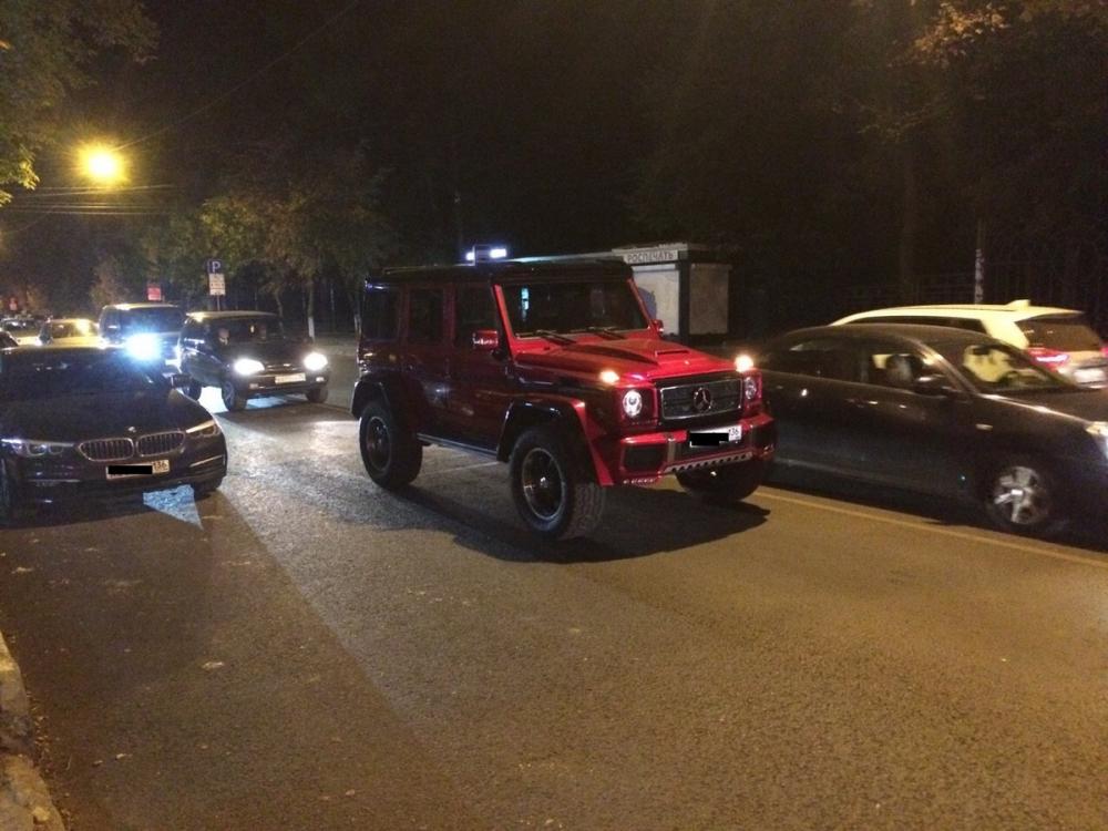 Превращённый в монстра Geländewagen поиздевался над другими водителями в Воронеже