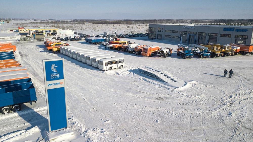 Новый дилерский центр КАМАЗ открыт в Воронеже