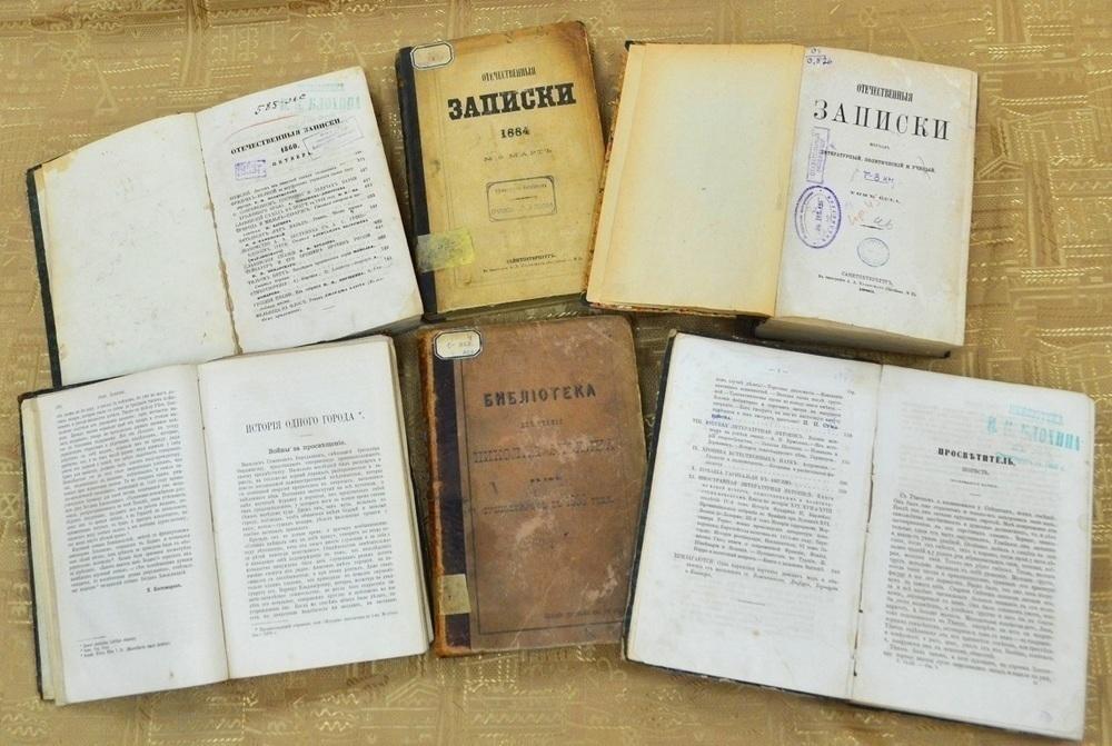 В здании Мещанской управы воронежцы увидят старинные книги XIX века