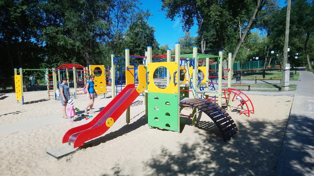Спустя год реконструкции, за 4 млн рублей в Воронеже открыли сквер «Березка»