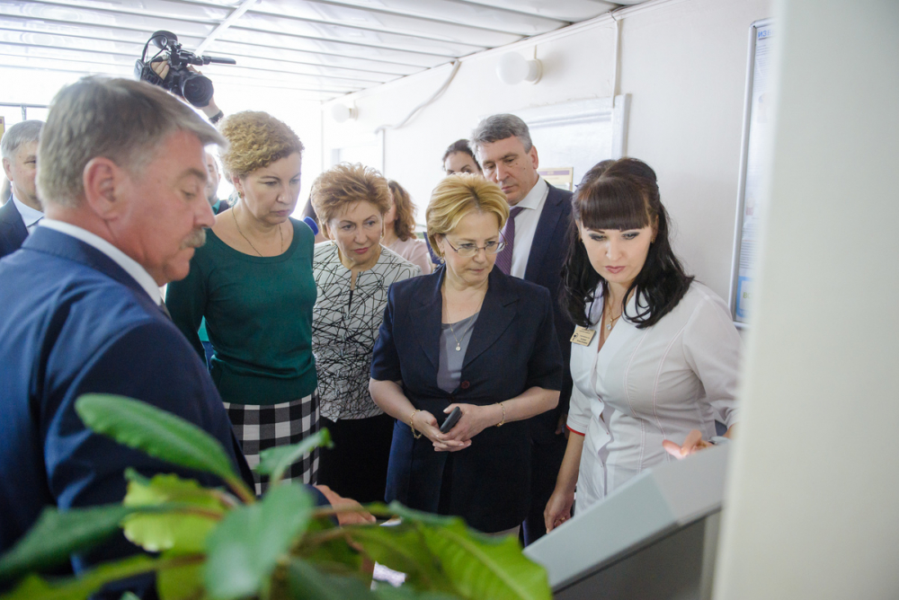 Глава Минздрава пообещала переоснастить детские поликлиники Воронежа