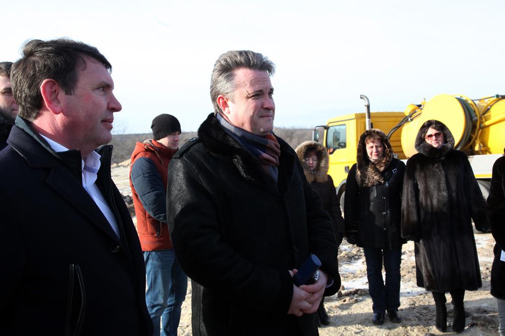 Воронежский глава Кстенин пообещал жителям Никольского качественную воду