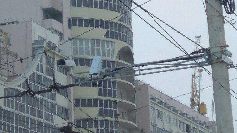 На Левом берегу Воронежа установили новые камеры фиксации нарушений