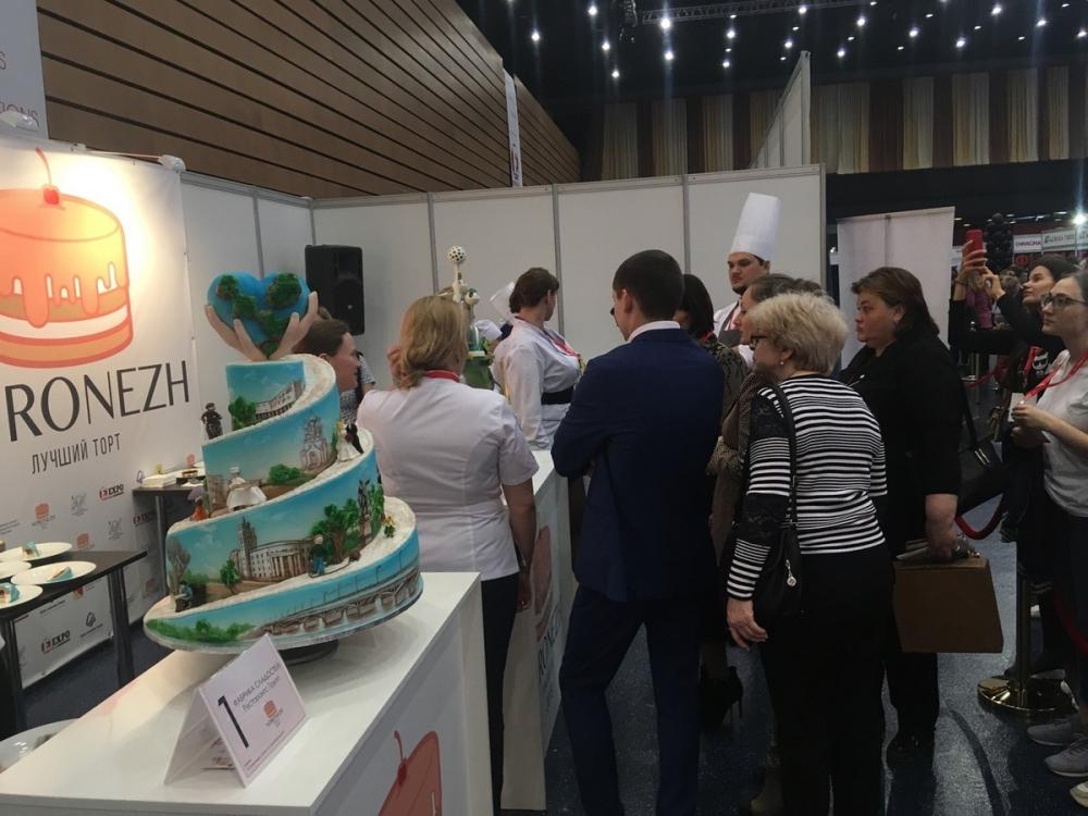 Самые красивые торты столицы Черноземья представили в Воронеже