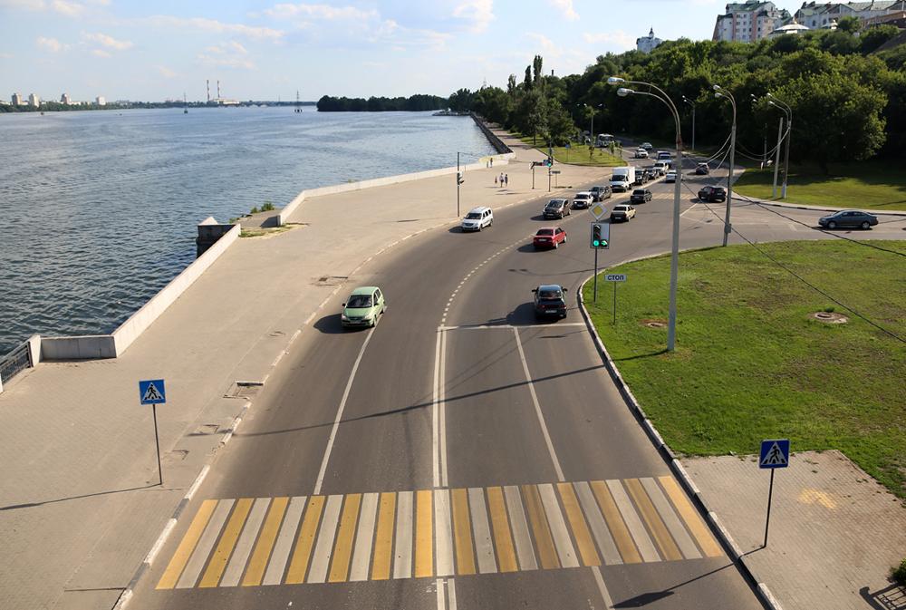 Власти Воронежа показали, как выглядят отремонтированные дороги в городе