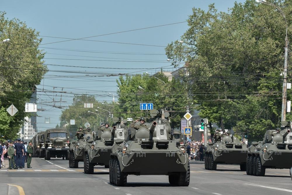 «Медведя», «Рысь» и «Ураган» покажут на параде Победы в Воронеже