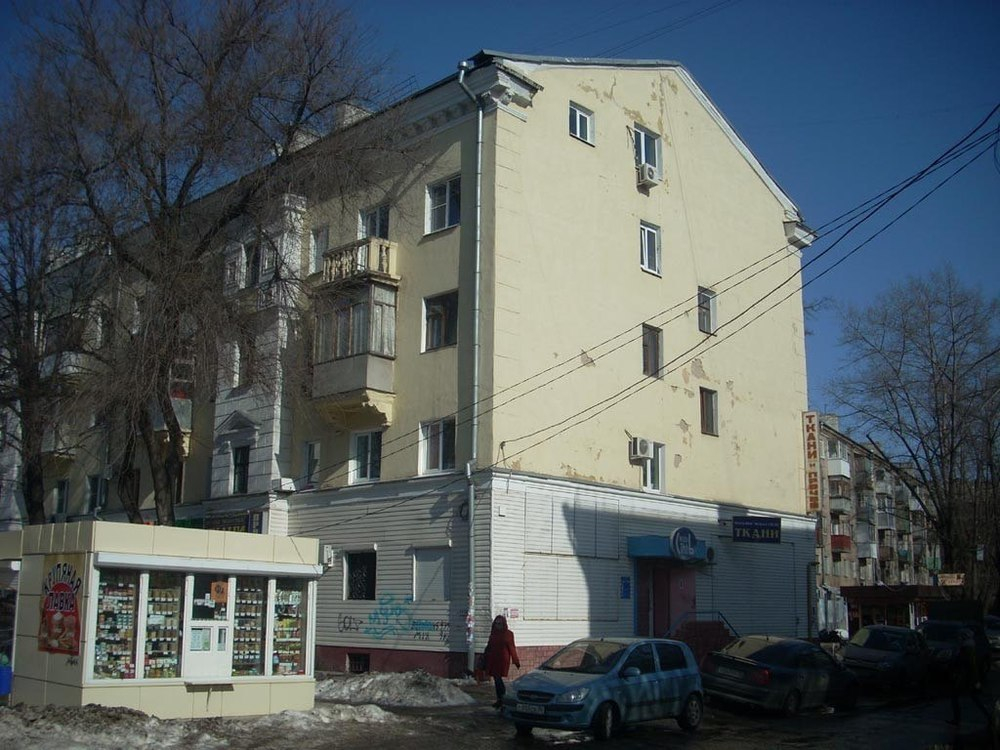Воронежцев позабавил «хитрый» дом на Московском проспекте