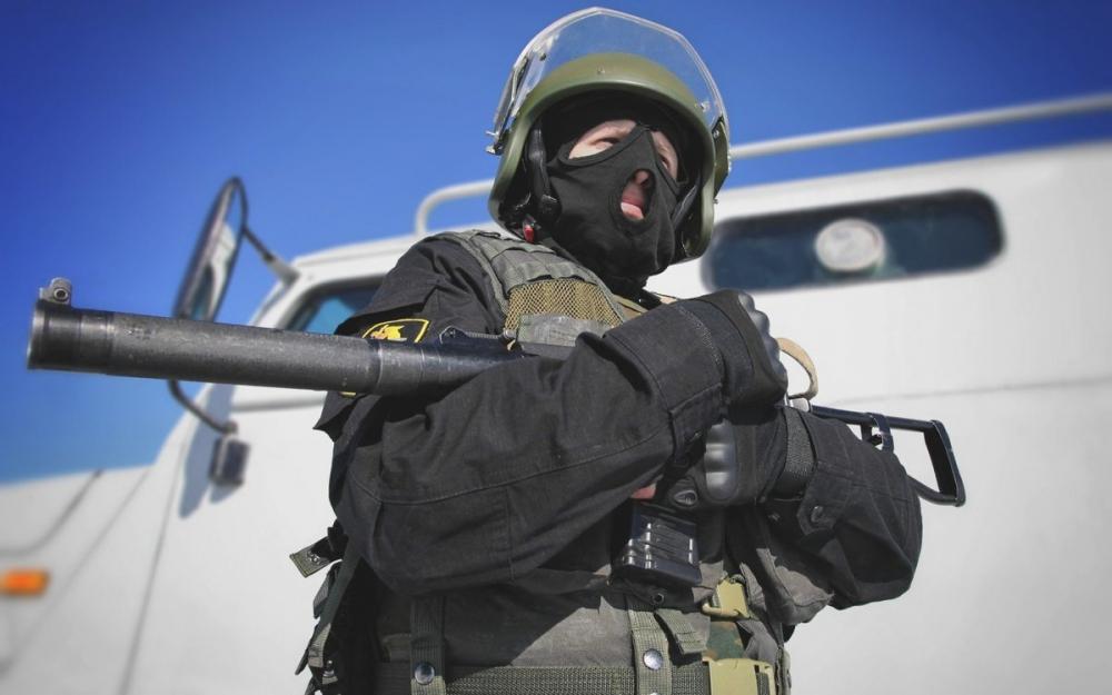 Воронежские силовики организовали перед выборами учения на хуторе