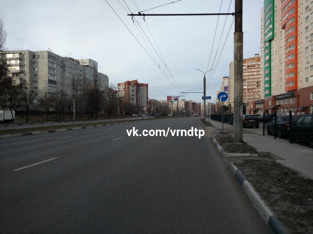 Установленный для дорогих нарушений знак заметили в Воронеже