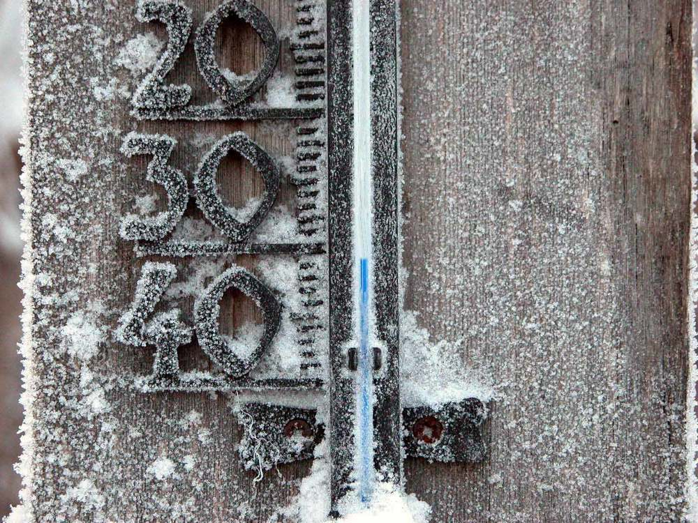 В Воронеже на рабочей неделе похолодает до -30 °C