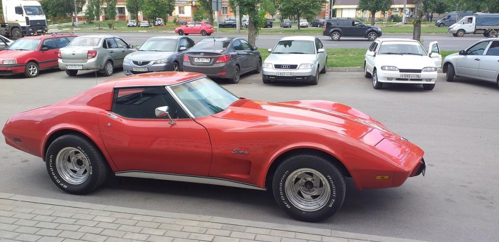 Дедушка Chevrolet Corvette посрамил современный дизайн авто в Воронеже