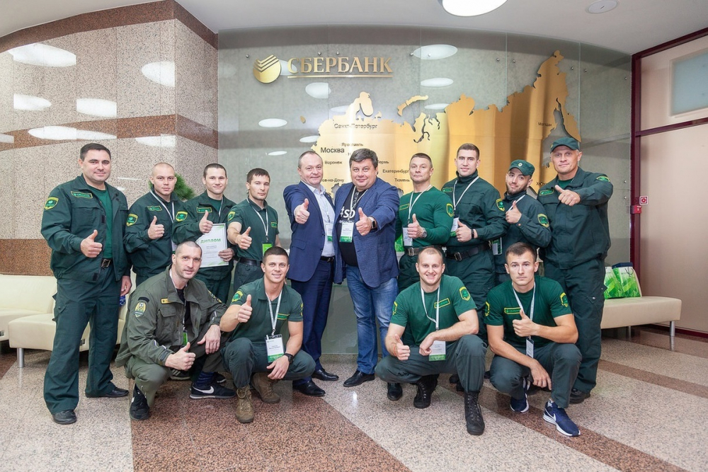 В Воронеже состоялся конкурс «Лучший по профессии» среди подразделений кассы и инкассаторов Сбербанка