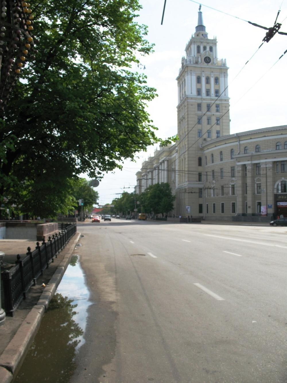 Проспект Революции в Воронеже приведут в порядок в 2019 году