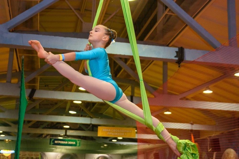 В Воронеже прошел первый областной фестиваль по воздушной гимнастике