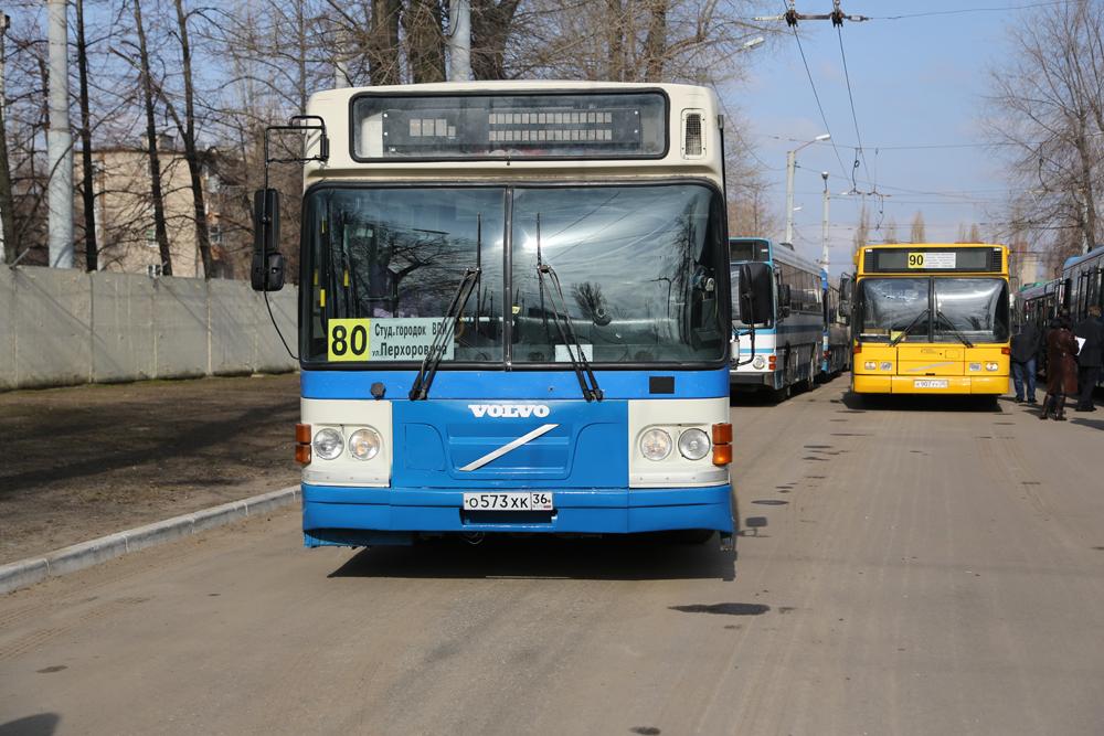 Количество автобусов увеличат на десятках маршрутов в Воронеже