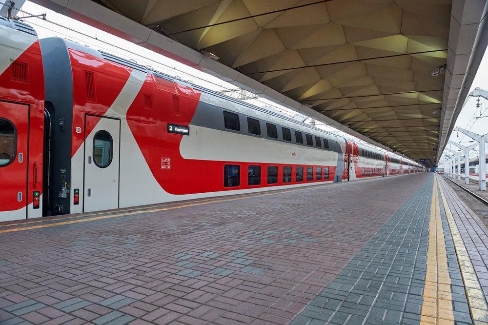Персонал двухэтажного поезда «Воронеж – Москва» признан наиболее дружелюбным