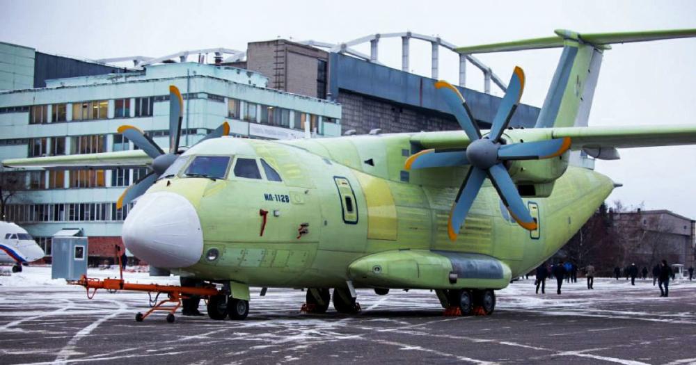 Первый полет новейшего Ил-112В сняли на видео в Воронеже
