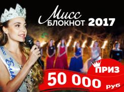 Голосование во втором этапе «Мисс Блокнот Воронеж-2017» продолжается!