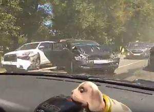 Жуткие последствия массовой аварии под Воронежем попали на видео