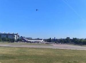 Легендарный штурмовик Ил-2 сняли в небе над Воронежем