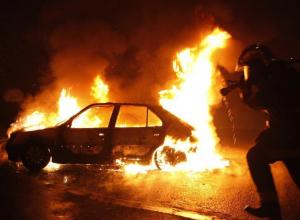 В Воронежской области сожгли машину главы штаба Грудинина