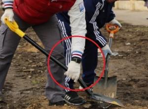 «Вражеские» часы обнаружили на руке мэра Воронежа