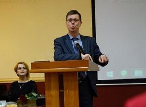 Строительный вице-мэр приступил к налаживанию системы в мэрии Воронежа