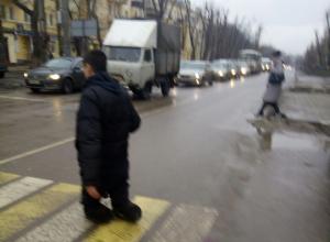 Воронежцы разоблачили попрошайку без ног