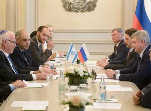 О чем говорил воронежский губернатор с еврейскими партнерами