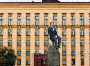 Воронежцы отказались переименовывать площадь Ленина в площадь Гордеева
