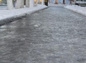 В центре Воронежа скончался поскользнувшийся мужчина