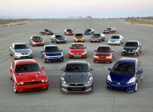Названы самые популярные среди воронежцев цвета автомобилей