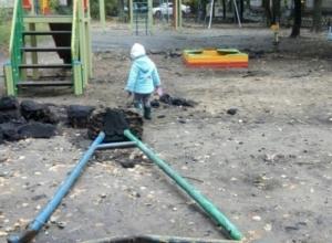 В Воронеже появилась площадка, готовящая детей к суровой жизни