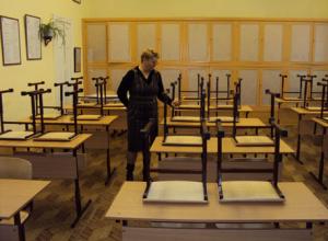 В разгар учебного года в Воронеже откроют школу на 1224 места