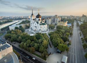 Стало известно, когда распишут и позолотят Благовещенский собор Воронежа