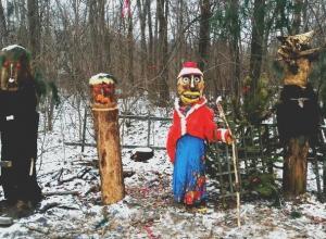 Воронежцев напугала жуткая «инсталляция» в Ботаническом саду