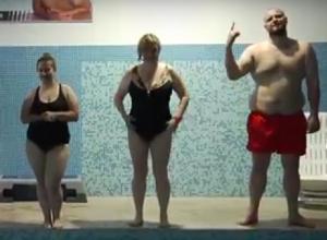 Участники проекта «Сбросить лишнее» создали волны в бассейне