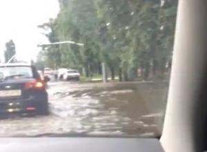 Грязный Воронеж превратился в Венецию после урагана