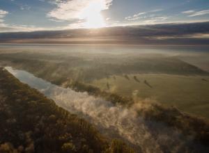 Красоту природы под Воронежем показали с высоты птичьего полета
