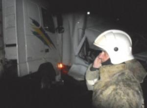 Под Воронежем водитель фуры устроил массовое ДТП