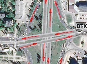 Воронежец показал, как могла бы выглядеть дорожная развязка на Остужевском кольце