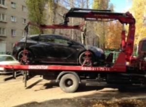 У воронежской автомобилистки забрали машину в счет накопленных штрафов