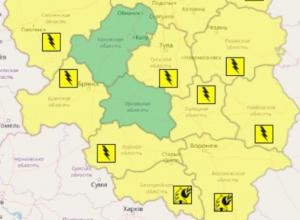 Туман и грозы стали причинами желтого уровня опасности в Воронежской области