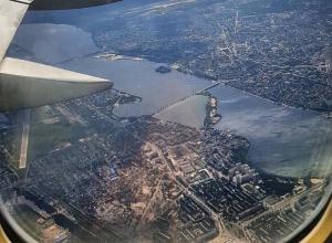 Потрясающий снимок Воронежа с борта самолета восхитил пользователей соцсети
