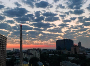 Воронежцы делятся завораживающими снимками  умопомрачительного рассвета