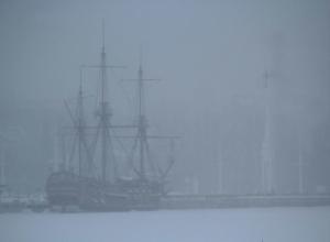 Эпичную «Гото Предестинацию» в тумане воронежцы сравнили с «Летучим голландцем»
